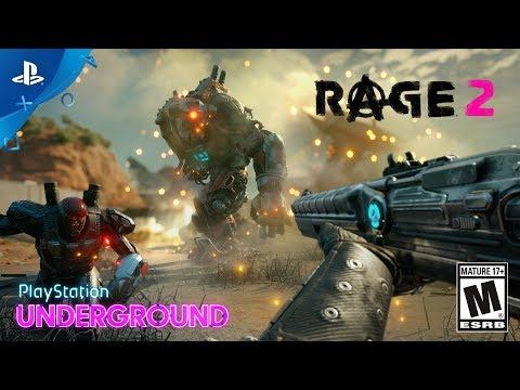Более 20 минут игрового процесса из RAGE 2