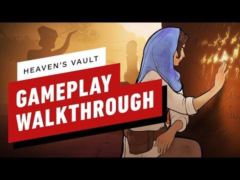 Приключенческая игра про женщину-археолога Heaven's Vault выйдет 16 апреля на PS4 и PC