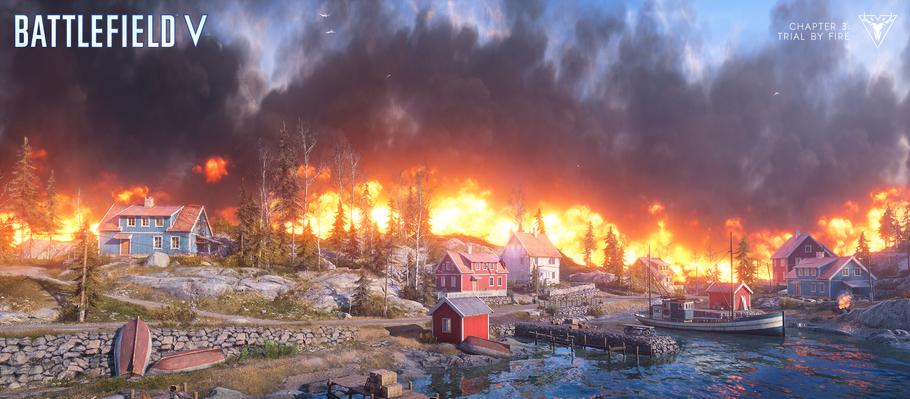 «Королевская битва» в Battlefield V, «Огненный шторм», появится 25 марта