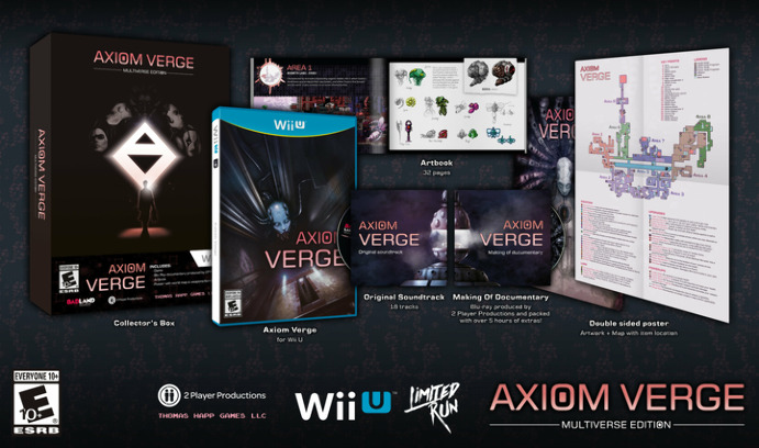 Limited Run Games выпустит коллекционное издание Axiom Verge для Wii U