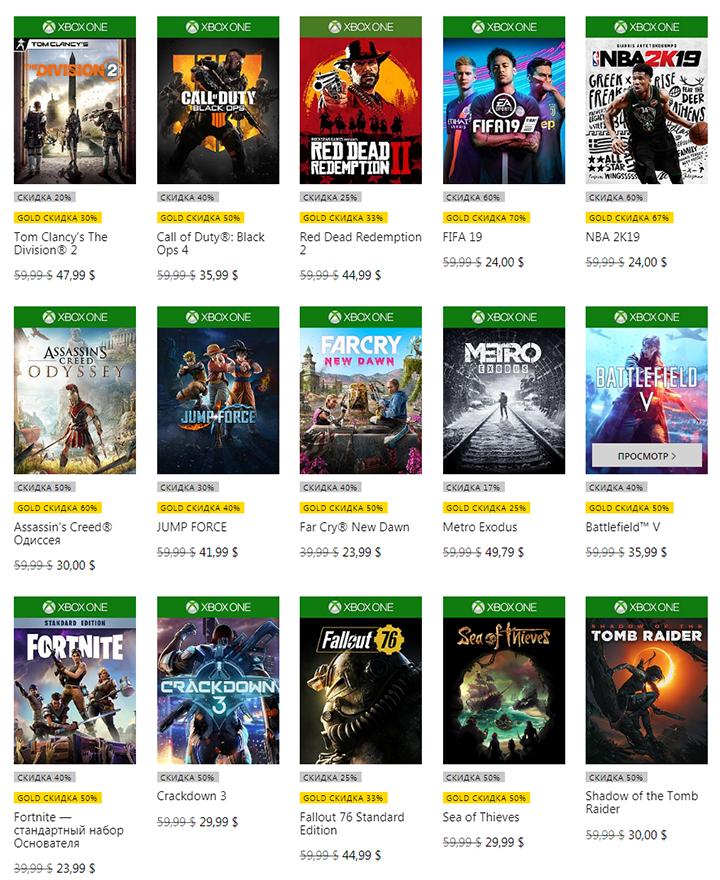 Весна пришла на Xbox: Стартовала большая сезонная распродажа